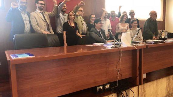 IX congresso della Fisac di Cagliari