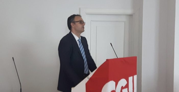 Stefano Caccia rieletto Segretario Generale della fisac Cgil di Livorno