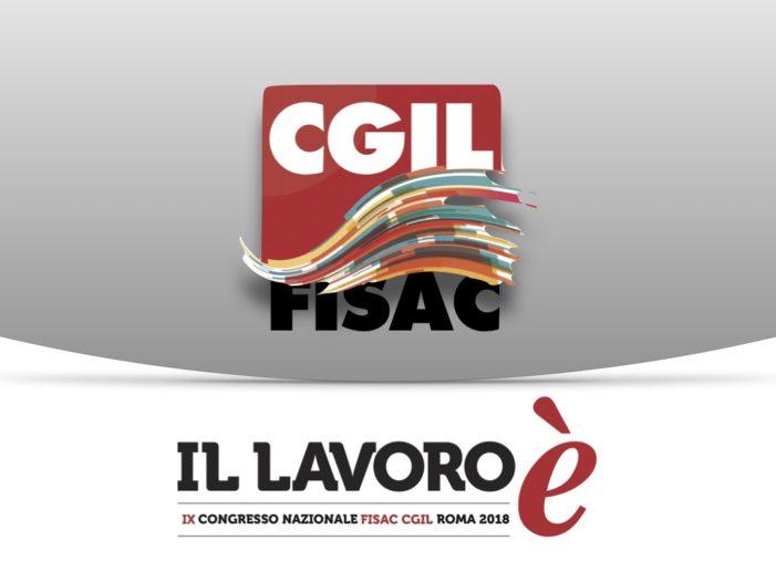 Fisac Cgil Benevento: Vincenzo Perrotti confermato Segretario Generale