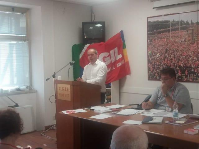 Lazio – II Congresso Fisac Cgil Roma Est Valle dell'Aniene