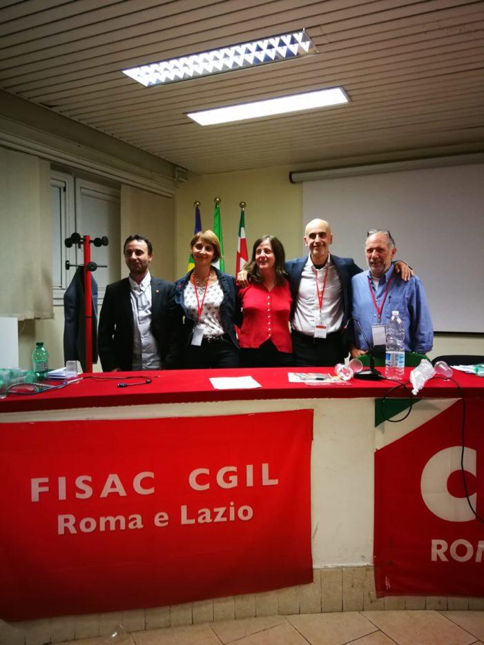 Lazio – II Congresso Fisac Cgil di Roma Centro Ovest Litoranea