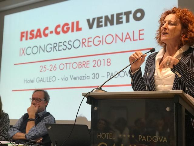 VENETO: Congresso Fisac regionale, Chiara Canton confermata ed eletta la Segreteria