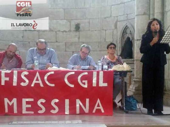 Marcella Magistro nuova Segretaria Generale della Fisac Messina