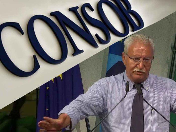 Megale al governo: subito nomina presidente Consob