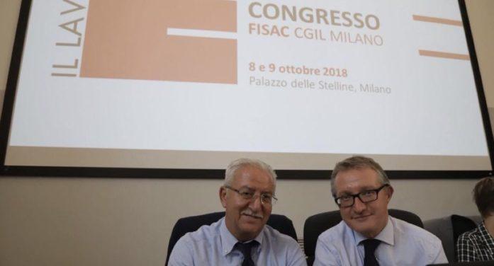 Milano: Gabriele Poeta rieletto Segretario Generale della Fisac Cgil di Milano