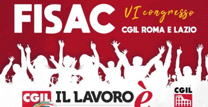 VI Congresso Fisac Roma e Lazio