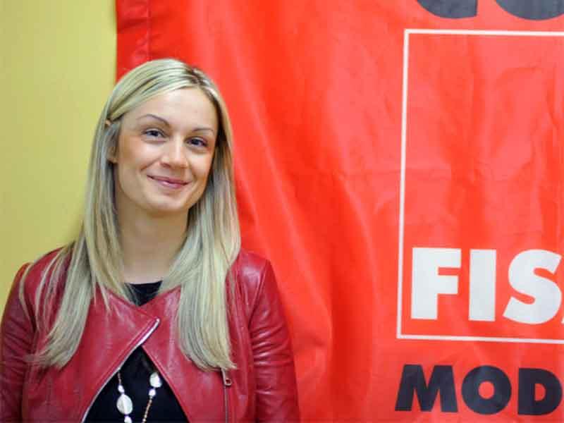 Fisac Modena: Govoni nuova Segretaria Generale