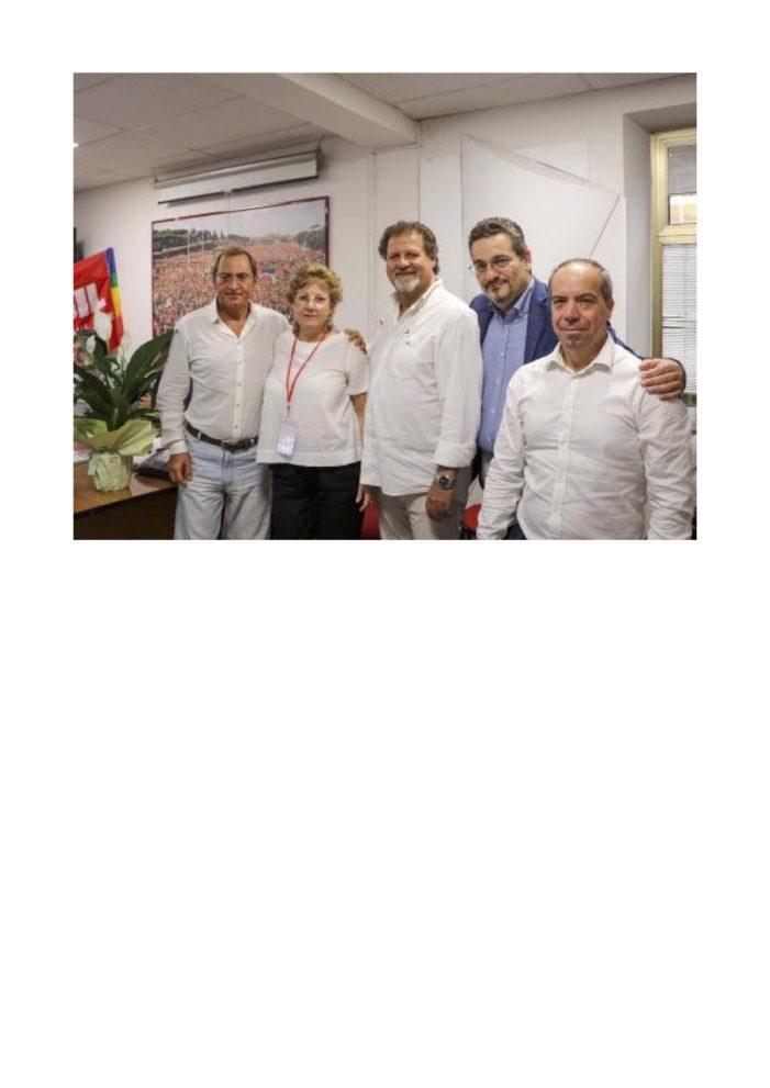 Lazio – Eletta la nuova segreteria Fisac Cgil Rieti Roma Est Valle dell'Aniene