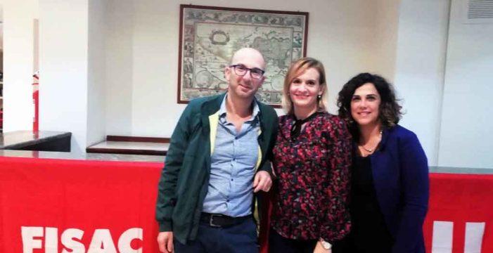 Fisac Oristano: Federica Carta Segreteria Generale