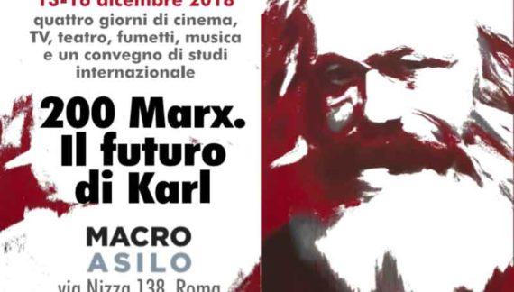 I duecento anni dalla nascita di Karl Marx