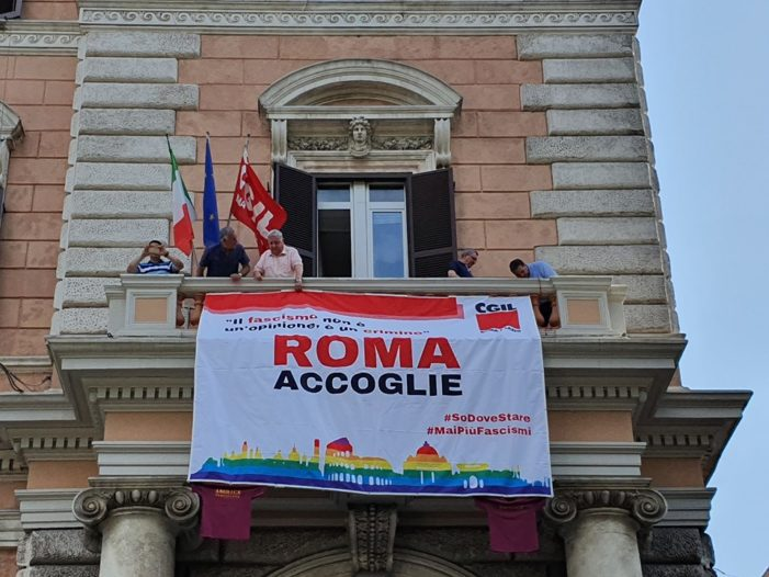 Lazio – ROMA / ACCOGLIE – Mai più fascismi !