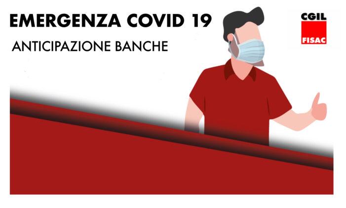 EMERGENZA COVID 19 – ANTICIPAZIONE BANCHE