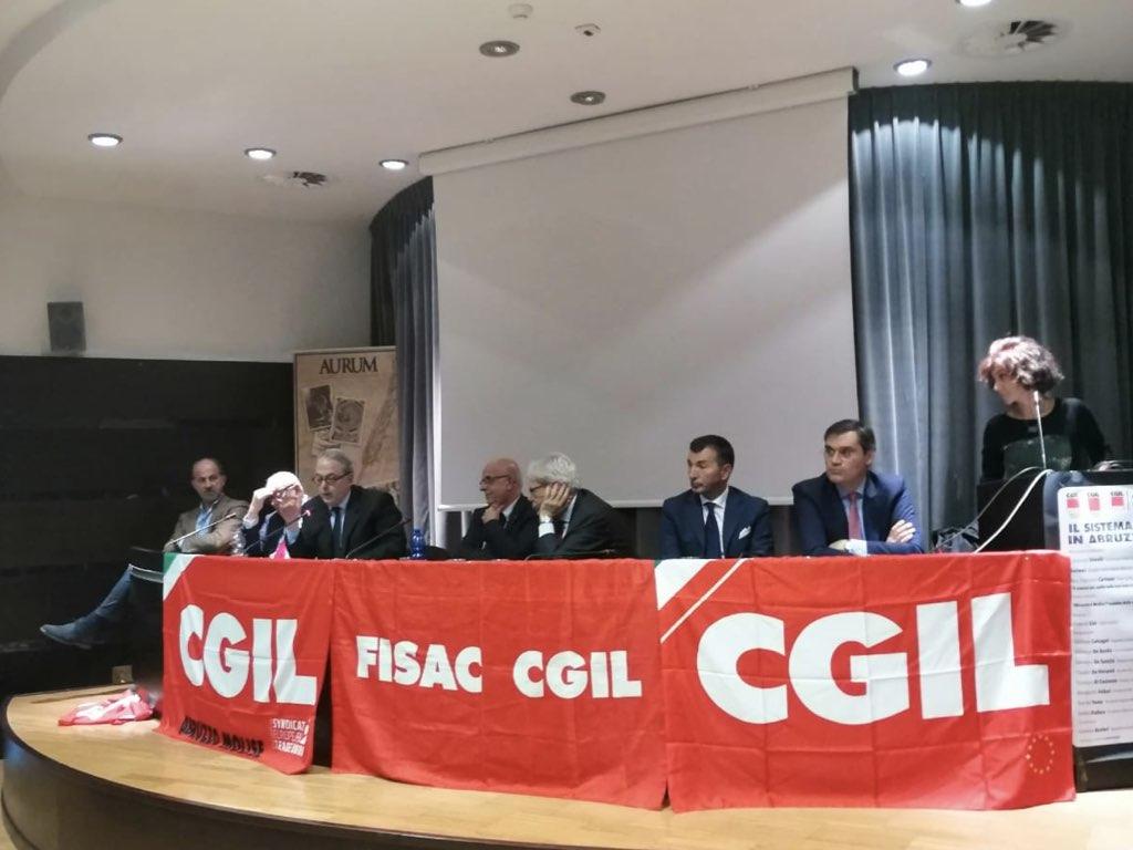 """Credito, la Fisac-Cgil: """"In Abruzzo e Molise è emergenza"""""""