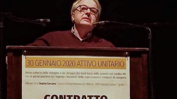 CCNL ABI: Milano,  primo attivo unitario