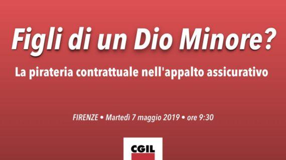 Toscana: appalto assicurativo, Figli di un Dio minore?