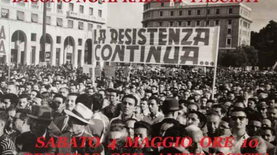 Genova, 4 maggio: no ai raduni fascisti