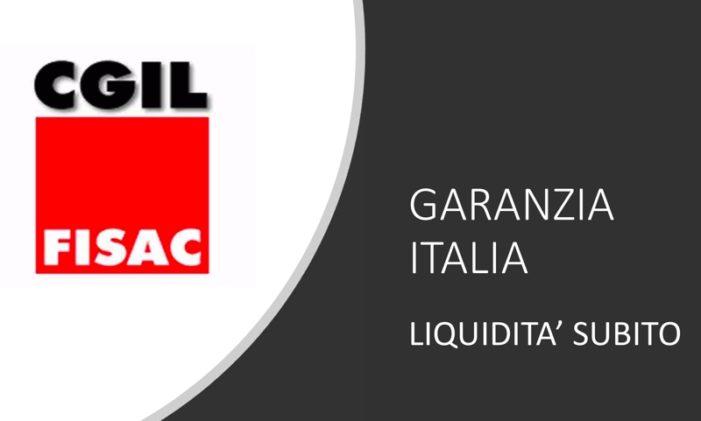 Garanzia Italia  – Liquidità subito, la proposta della Fisac CGIL