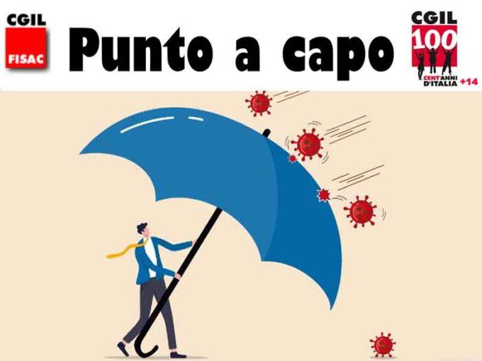 Fisac ISP – DR Lazio-Sardegna-Sicilia-Abruzzo-Molise: il nuovo numero di 'Punto a capo'