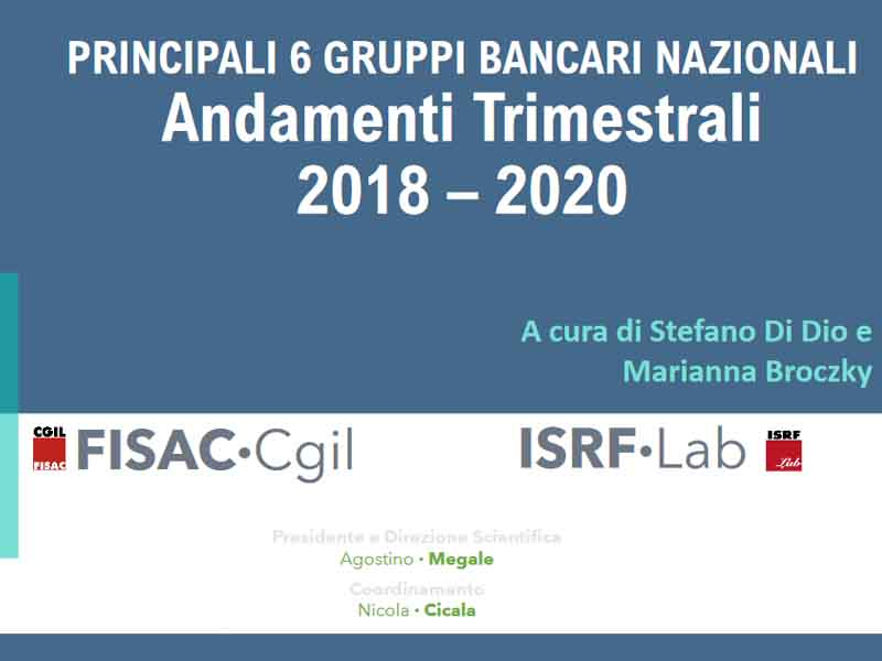 ISRF Lab: Outlook trimestrale – 1/2020