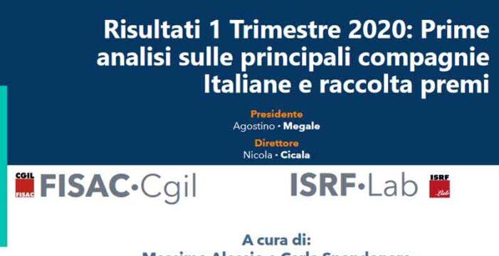 ISRF Lab: Outlook 11/2020 – Prime analisi sulle principali compagnie Italiane nel 1 trimestre 2020