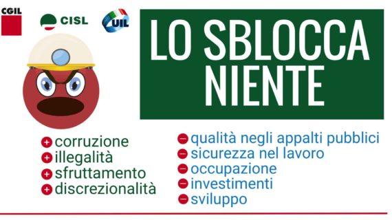 Lo Sblocca Niente: il presidio unitario a Montecitorio