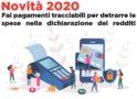 Notizie importanti dal CAAF CGIL: novità fiscali 2020 (per il 730/2021)
