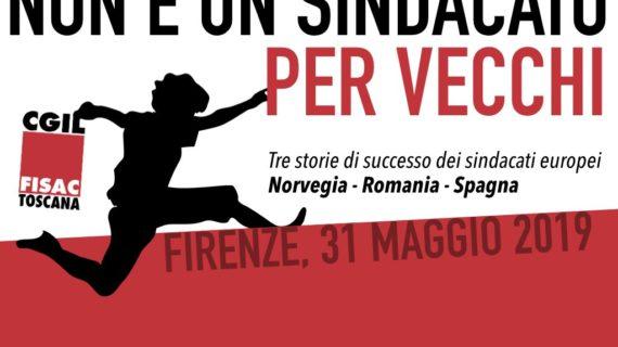 Toscana: non è un sindacato per vecchi