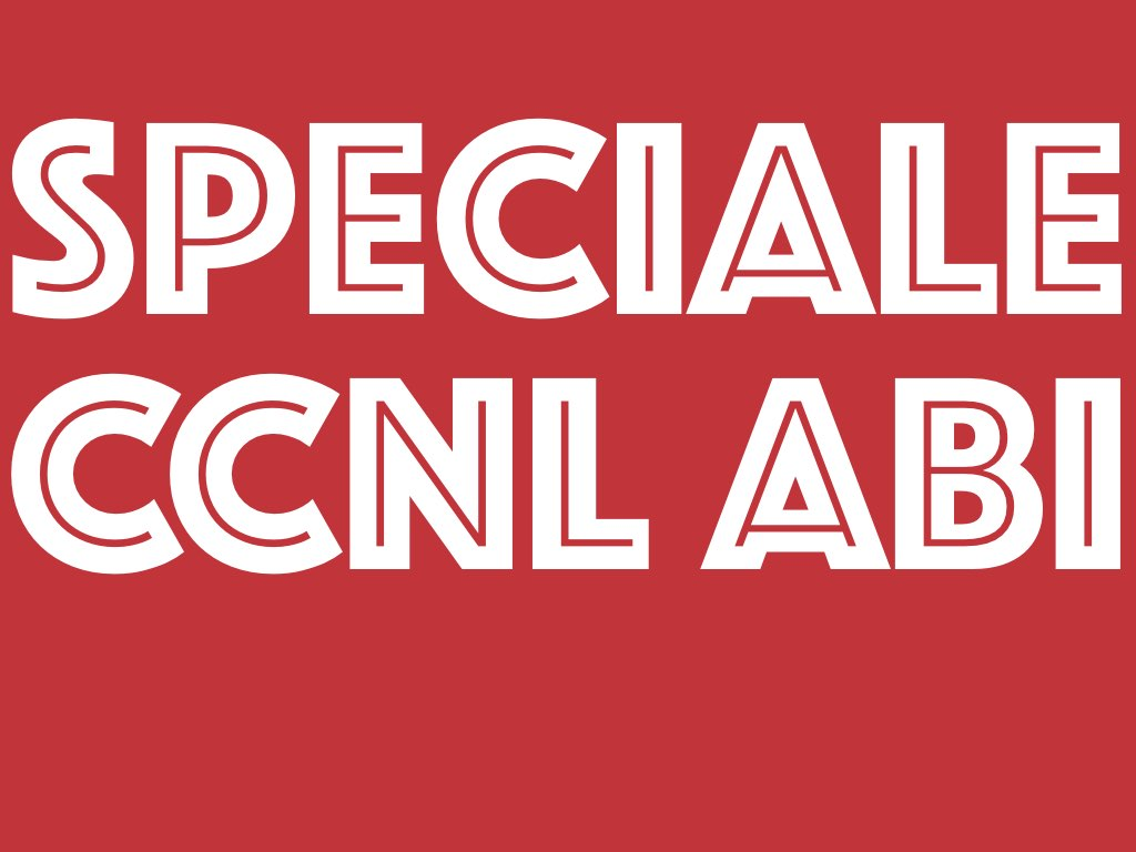 Firmata l'ipotesi d'intesa per il rinnovo dell CCNL ABI – il documento