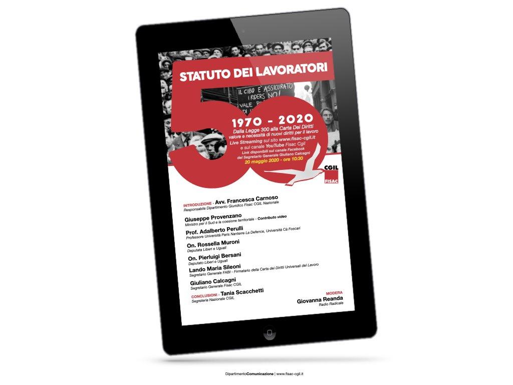 Rivedi il video – Statuto dei Lavoratori 1970 – 2020