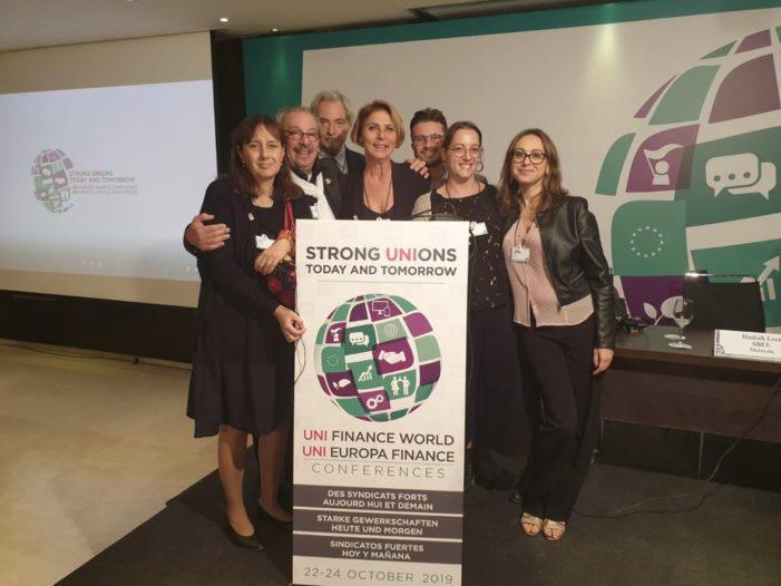 Torremolinos, 22 ottobre 2019: Uni Europa Finance Conference