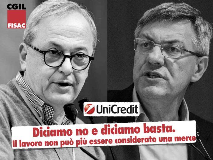 Unicredit – Calcagni: respingiamo questi numeri, no a 8 miliardi di dividendi sulla pelle dei lavoratori