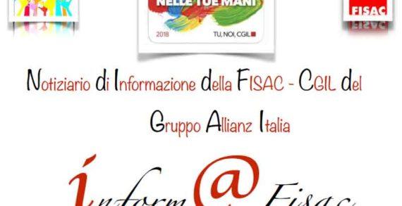 """Gruppo Allianz Italia: """"Inform@Fisac"""" di maggio 2019"""