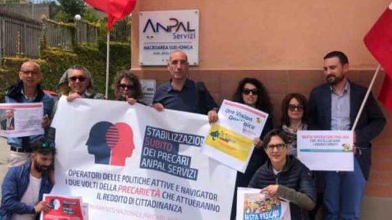 Reddito di cittadinanza: sciopero operatori precari di Anpal Servizi Calabria
