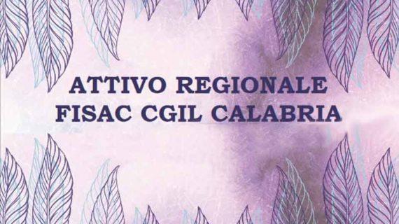 Attivo Regionale Fisac-Cgil Calabria