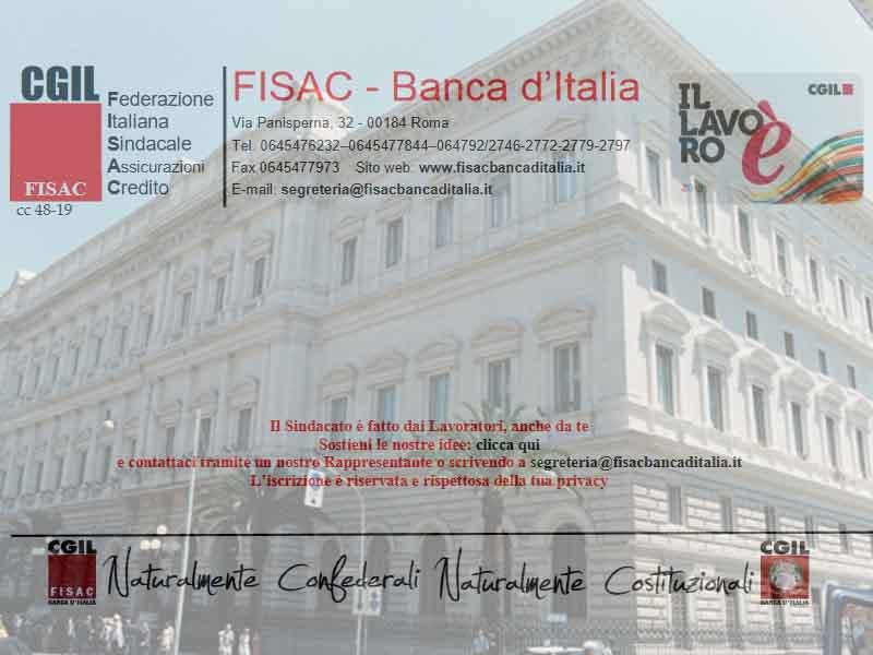 Il lavoro e il futuro della Banca d'Italia