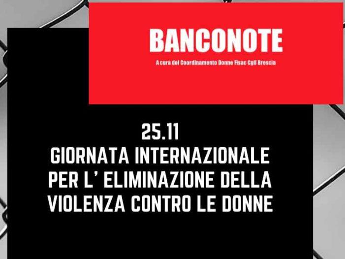 """Coordinamento Donne Brescia: """"Banconote"""" di Nov/Dic. 2019"""