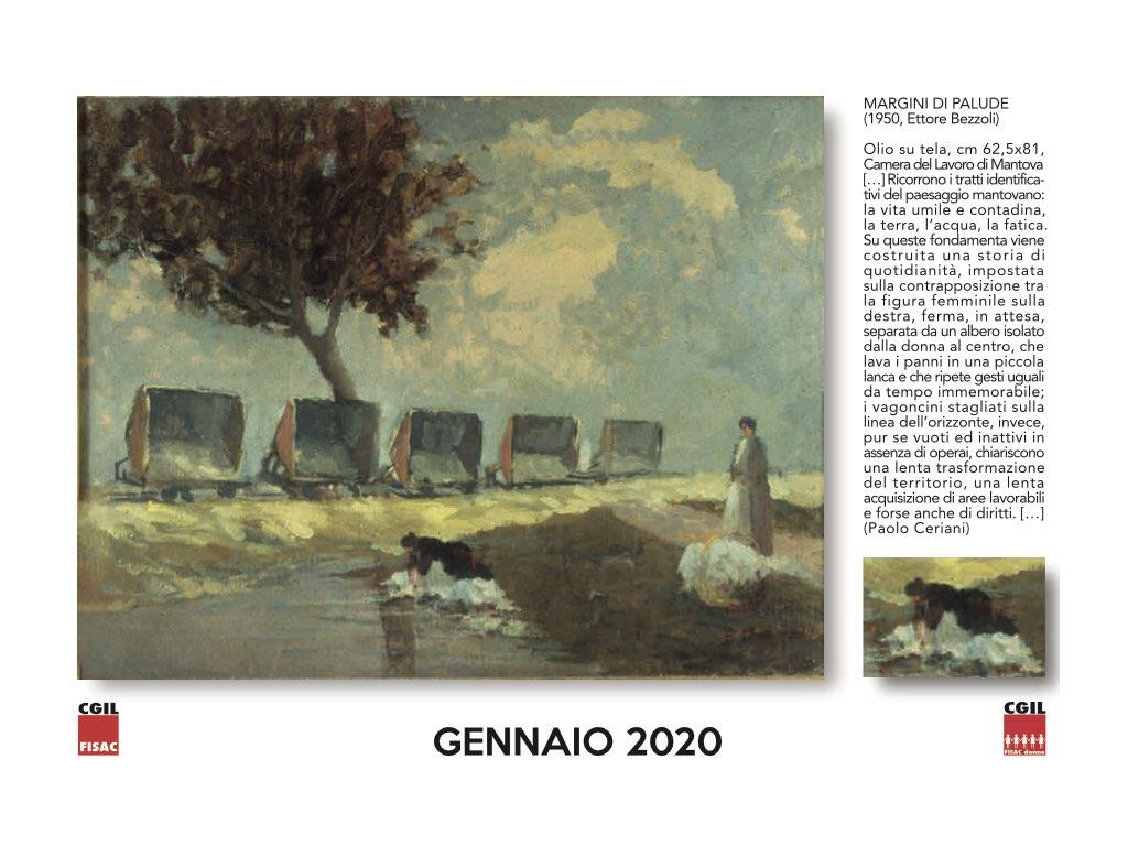 Calendario 2020 Donne.Filctem Brescia