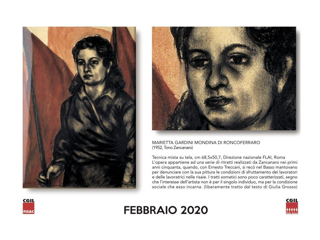 Calendario 2020 Donne.Il Lavoro E Un Futuro Diverso Il Calendario 8 Marzo