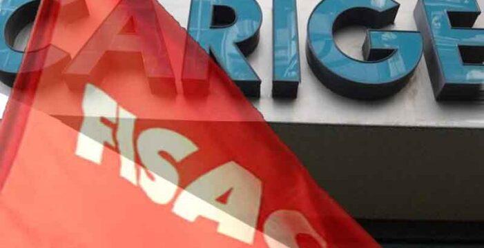 Carige: Fisac Cgil, riorganizzazione in linea ad accordi