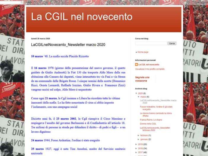 La CGIL nel Novecento: newsletter di marzo 2020