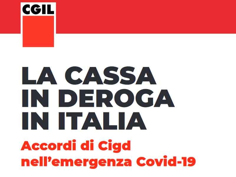 La cassa in deroga in Italia