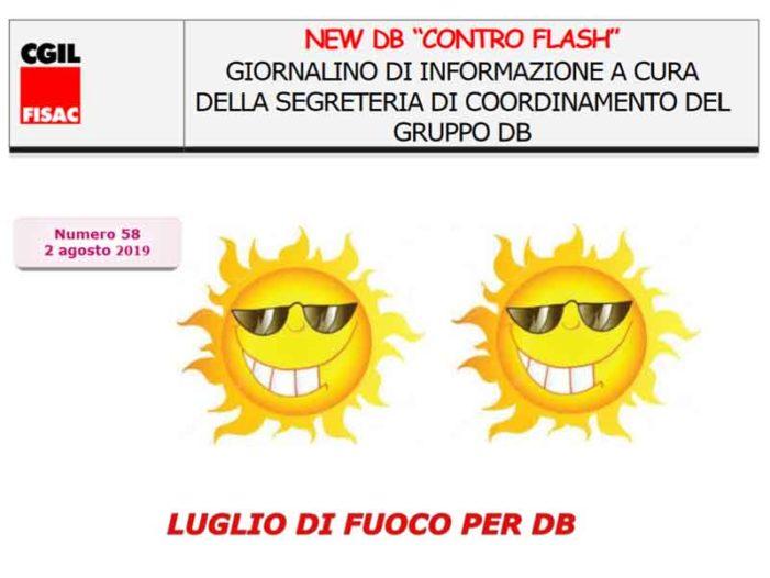 """New DB """"ControFlash"""" n.58 – Luglio 2019"""