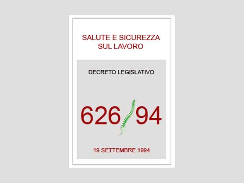 """Convegno a Firenze """"25 anni dal decreto legislativo 626: traguardi e nuove sfide"""""""