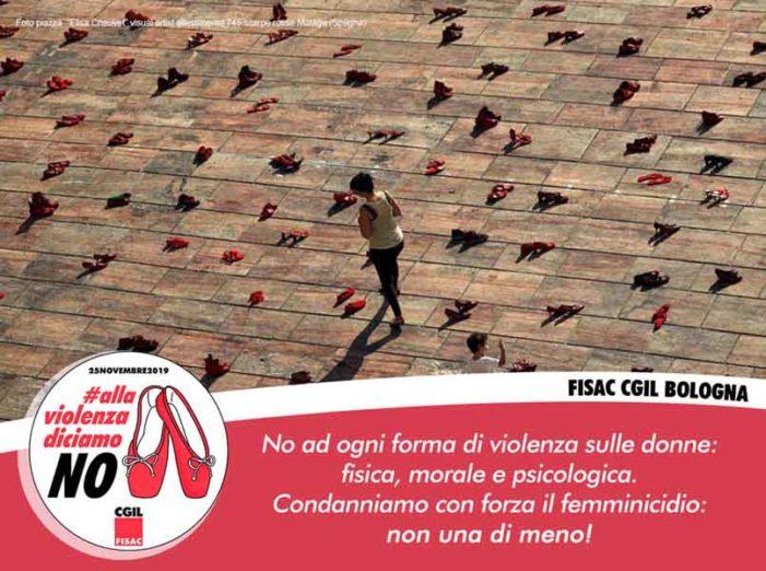 25 novembre: alla violenza diciamo NO