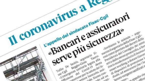 Fisac Calabria: comunicato Coronavirus