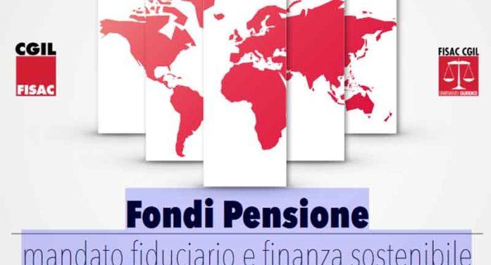 Fondi Pensione: mandato fiduciario e finanza sostenibile