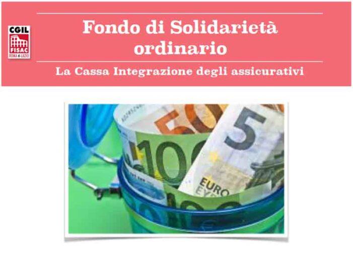 Fisac Roma e Lazio: il Fondo Intersettoriale di Solidarietà dei settori Ania ed Aisa