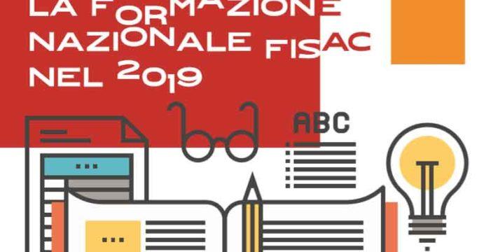 La formazione nazionale Fisac nel 2019