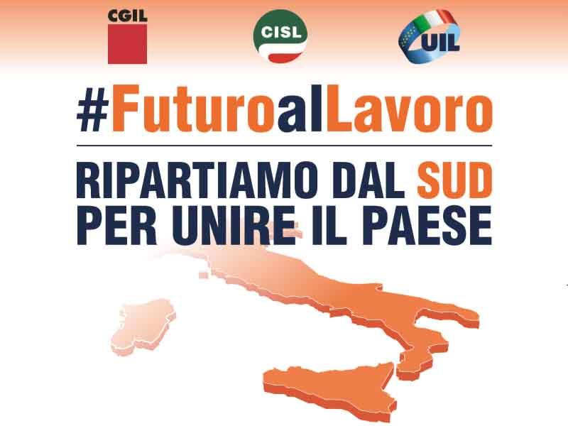 """Reggio Calabria: manifestazione nazionale """"Futuro al Lavoro"""""""