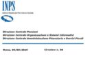 Riscatto contributi INPS senza condono: circolare n.36 e modulistica